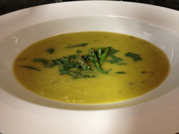 Asparagus Soup by Mark Indre - for facebook