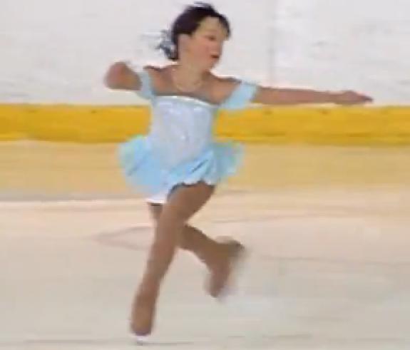 Champion Figure Skater, Madeleine Frey