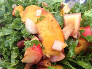 Kale Peach Salad - best