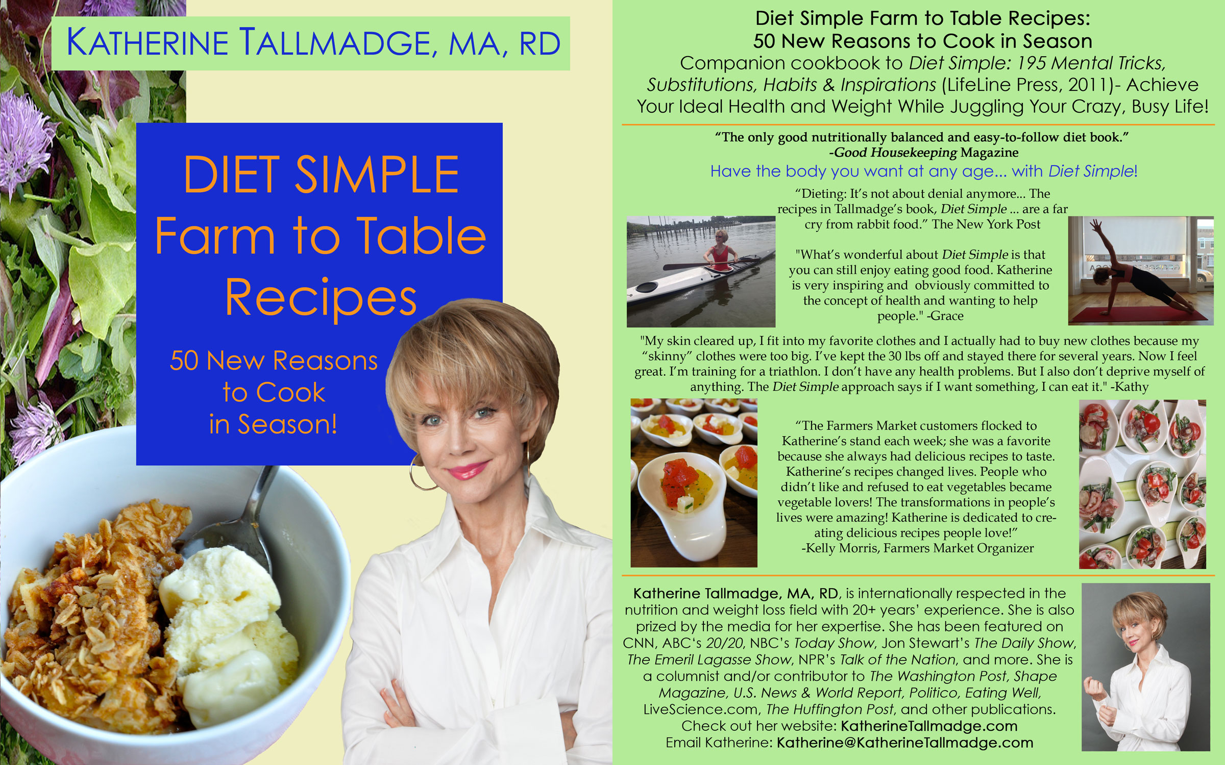 Diet Simple Farm to Table Cover
