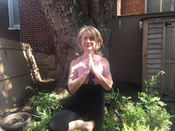Katherine Tallmadge: Tree Pose July 9, 2017